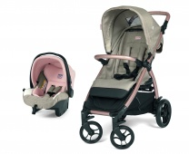 Коляска 2 в 1 Peg Perego Booklet 50 Travel System Mon Amour - магазин товаров Peg Perego